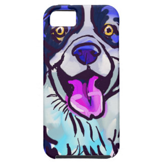 The happy Border Collie Love of My Life iPhone 5 Covers