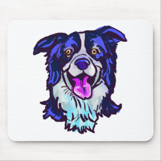 The happy Border Collie Love of My Life Mouse Pad
