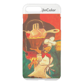 The happy cook By Tee Joe McArt iPhone 7 Plus Case