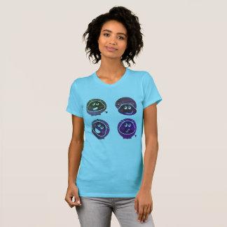 The Happy cute Hippo t-shirt MINT