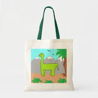 The Happy Dinosaur Tote Bag