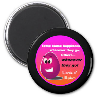 The Happy Egg Head Wisdom Products Magnet