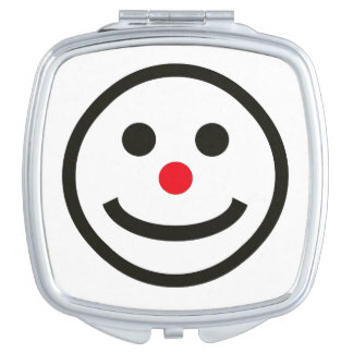 The Happy Face Mirror for Mackup Compact Mirrors