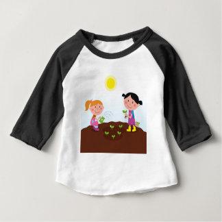 The happy garden spring Kids Baby T-Shirt