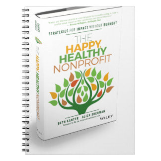 The Happy, Healthy Nonprofit 3D Cover Notebooks