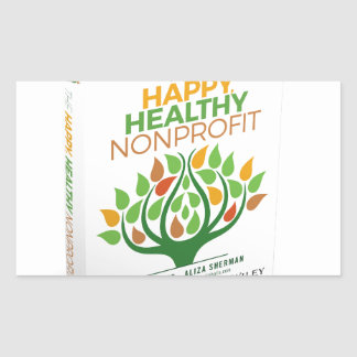 The Happy, Healthy Nonprofit 3D Cover Sticker
