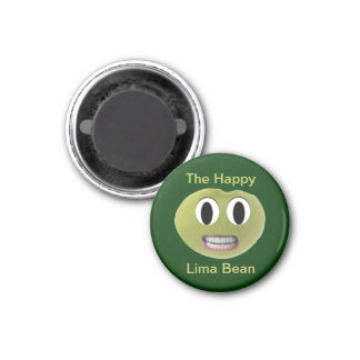 The Happy Lima Bean Magnet