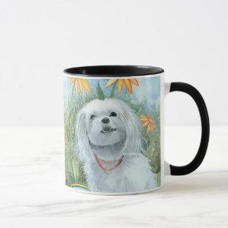 The Happy Maltese Mug