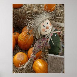 The Happy Scarecrow Poster