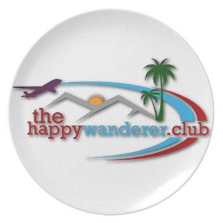 The Happy Wanderer Club Plate