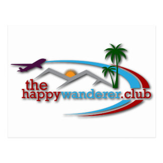The Happy Wanderer Club Postcard