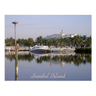 The harbor at Sanibel Island, Florida Postcard