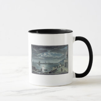 The Harbour and the Cobb, Lyme Regis by Moonlight Mug