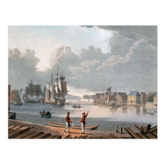 The harbour, Christiania Postcard