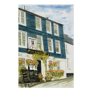 The Harbour Inn Padstow Print