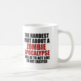 The Hardest Part About A Zombie Apocalypse Coffee Mug