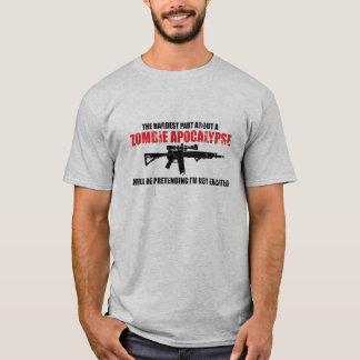The Hardest Part About a Zombie Apocalypse Shirt
