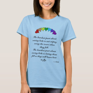 The hardest part about raising kids T-Shirt