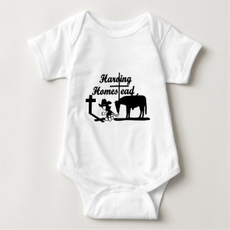 "The Harding Homestead ""Riding By Faith"" Clothing Baby Bodysuit"