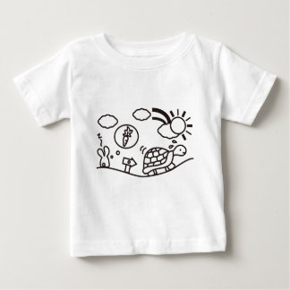 The Hare and the Tortoise Baby T-Shirt