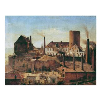 The Harkort Factory at Burg Wetter, c.1834 Postcard