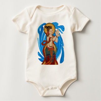 THE HARMONY SHOWN BABY BODYSUIT