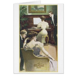 The Harvard Piano Card