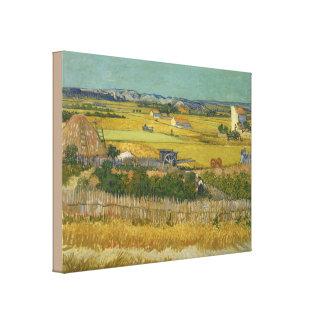 The Harvest by Vincent van Gogh Canvas Print