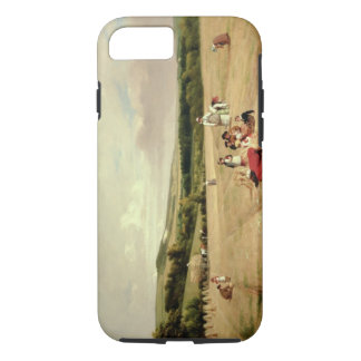 The Harvest Field (oil on canvas) iPhone 7 Case