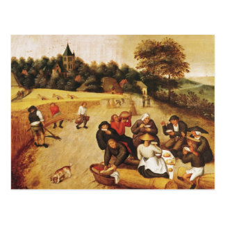 The Harvester's Meal Postcard