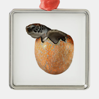 The Hatchling Metal Ornament