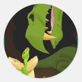 The Hatchling Round Sticker