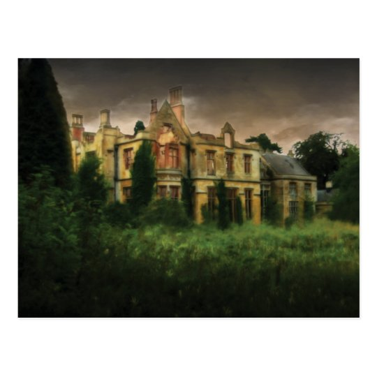 The Haunted Hall Postcard