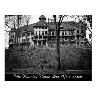 The Haunted House Das Geisterhaus Postcard