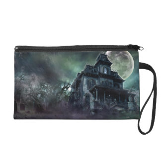 The Haunted House Paranormal Wristlet Clutches