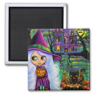 The Haunted Treehouse Magnet