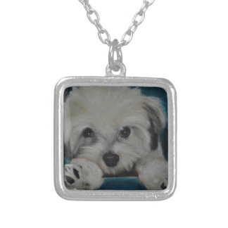 The Havanese Silver Plated Necklace
