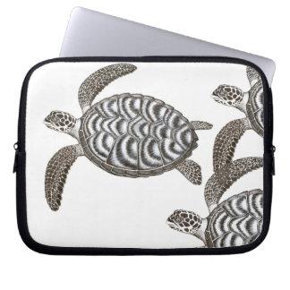 The Hawksbill Sea Turtles Electronics Bag Computer Sleeves