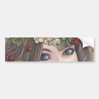 The Hawthorn Queen. Bumper Sticker