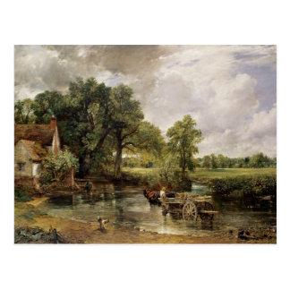 The Hay Wain, 1821 Postcard