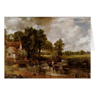 The Hay Wain By Constable John (Best Quality) Greeting Card