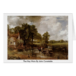 The Hay Wain By John Constable Card
