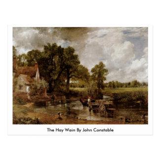 The Hay Wain By John Constable Postcard