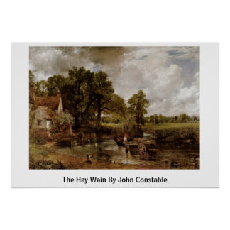 The Hay Wain By John Constable Poster