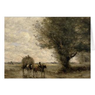 The Haycart, c. 1860 Card