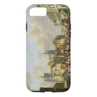 The Haymarket, Norwich, 1825 (oil on panel) iPhone 7 Case