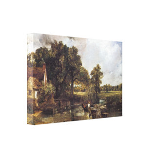 The Haywain, 1821 Canvas Prints