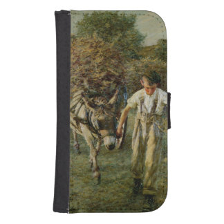 The Haywain, c.1889 (oil on canvas) Galaxy S4 Wallets