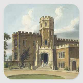 The Head Master's House, Rugby School, from 'Histo Square Sticker
