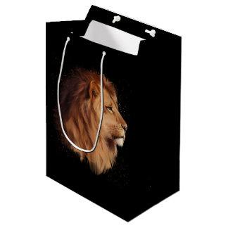 The head of a lion medium gift bag